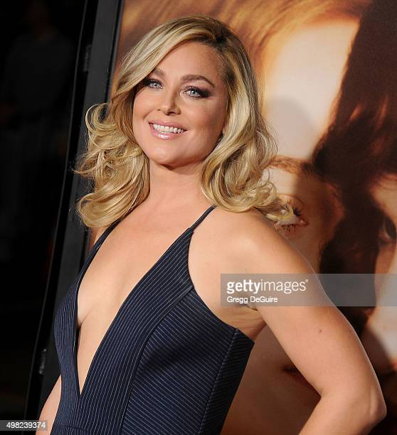 Actress Elisabeth Rohm arrives at the premiere of Focus Features' 'The Danish Girl' at Westwood Village Theatre on November 21 2015 in Westwood...