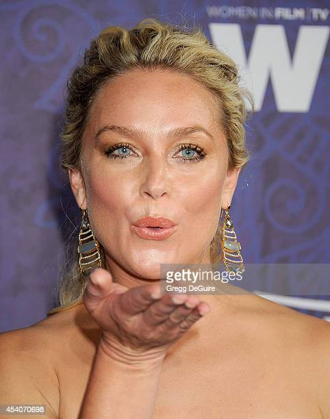 Actress Elisabeth Rohm arrives at the Variety And Women In Film Annual PreEmmy Celebration at Gracias Madre on August 23 2014 in West Hollywood...