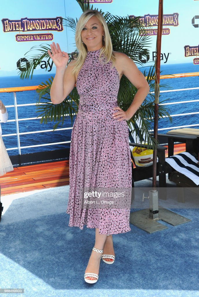 Actress Elisabeth Rohm arrives for Columbia Pictures And Sony Pictures Animation's World Premiere Of 'Hotel Transylvania 3: Summer Vacation' held at Regency Village Theatre on June 30, 2018 in Westwood, California.