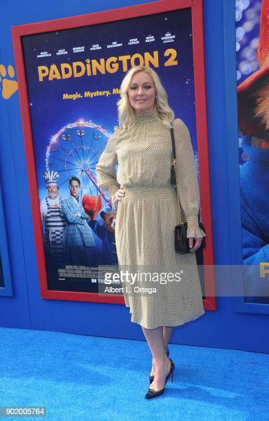 Actress Elisabeth Rohm arrives for the premiere of Warner Bros Pictures' Paddington 2 held at Regency Village Theatre on January 6 2018 in Westwood...