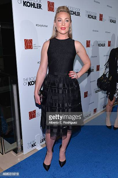 Actress Elisabeth Rohm arrives to the 18th Annual Art Directors Guild Exellence In Production Design Awards at The Beverly Hilton Hotel on February 8...