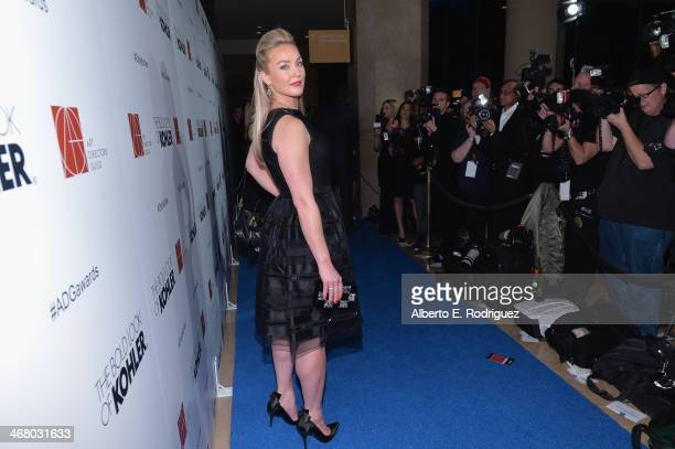 Actress Elizabeth Rohm arrives to the 18th Annual Art Directors Guild Exellence In Production Design Awards at The Beverly Hilton Hotel on February 8...