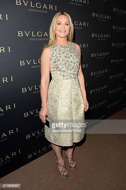 Actress Elisabeth Rohm attends Decades of Glamour presented by BVLGARI on February 25 2014 in West Hollywood California