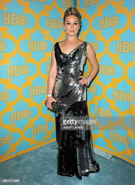 Actress Elisabeth Rohm attends HBO's post Golden Globe Awards party at The Beverly Hilton Hotel on January 11 2015 in Beverly Hills California