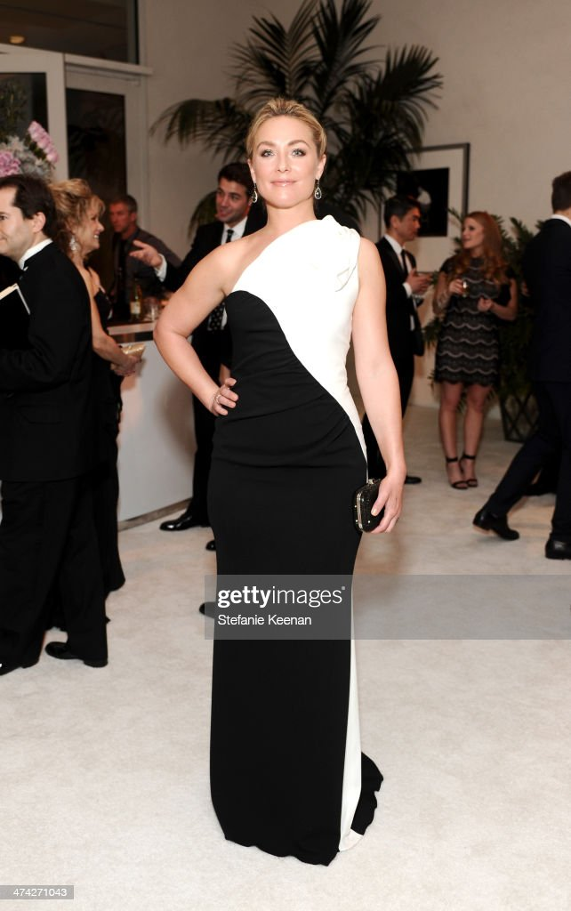 Actress Elisabeth Rohm attends the 16th Costume Designers Guild Awards with presenting sponsor Lacoste at The Beverly Hilton Hotel on February 22, 2014 in Beverly Hills, California.