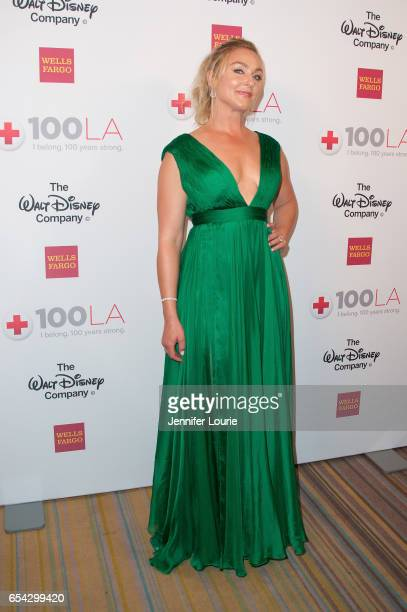 """Actress Elisabeth Rohm attends the American Red Cross Centennial Celebration to Honor Disney as the """"Humanitarian Company of The Year"""" at the Beverly..."""