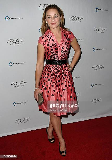Actress Elisabeth Rohm attends the Autumn Party benefiting Children's Institute at The London Hotel on September 29, 2010 in West Hollywood,...
