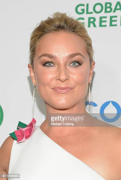 Actress Elisabeth Rohm attends the Global Green 20th Anniversary Environmental Awards at Alexandria Ballrooms on September 29 2016 in Los Angeles...
