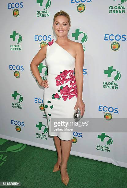 Actress Elisabeth Rohm attends the Global Green 20th Anniversary Environmental Awards at the Alexandria Ballroom on September 29 2016 in Los Angeles...