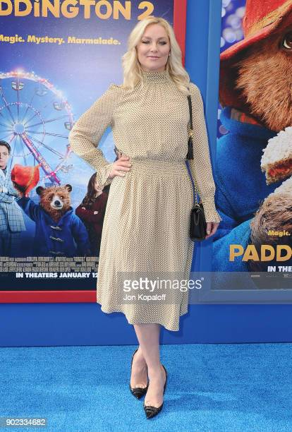 Actress Elisabeth Rohm attends the Los Angeles Premiere 'Paddington 2' at Regency Village Theatre on January 6 2018 in Westwood California