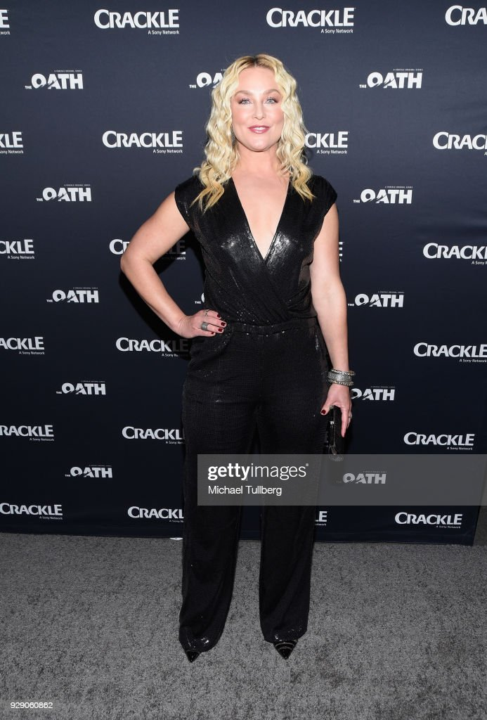 Actress Elisabeth Rohm attends the premiere of Crackle's 'The Oath' at Sony Pictures Studios on March 7, 2018 in Culver City, California.
