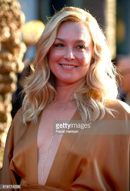 Actress Elisabeth Rohm attends the premiere of Disney's The Jungle Book at the El Capitan Theatre on April 4 2016 in Hollywood California