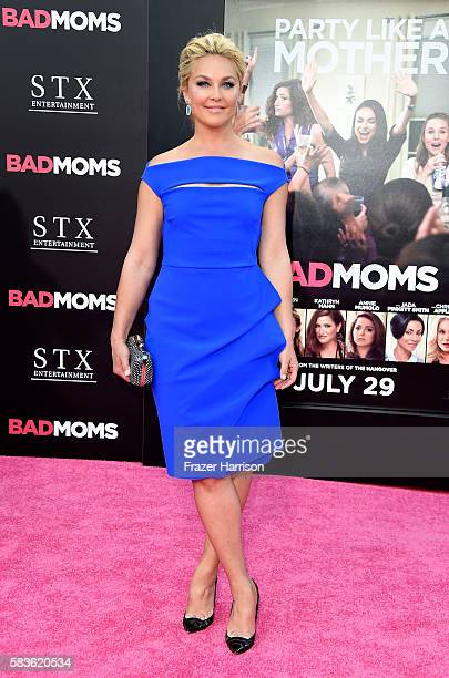 Actress Elisabeth Rohm attends the premiere of STX Entertainment's Bad Moms at Mann Village Theatre on July 26 2016 in Westwood California