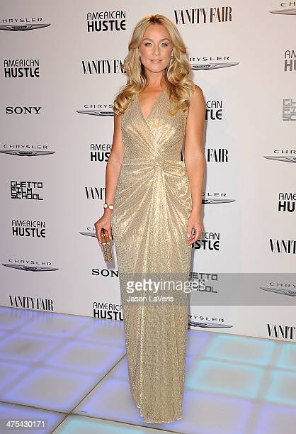 Actress Elisabeth Rohm attends the Vanity Fair Campaign Hollywood 'American Hustle' toast at Ago Restaurant on February 27 2014 in West Hollywood...