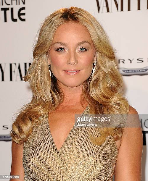Actress Elisabeth Rohm attends the Vanity Fair Campaign Hollywood American Hustle toast at Ago Restaurant on February 27 2014 in West Hollywood...