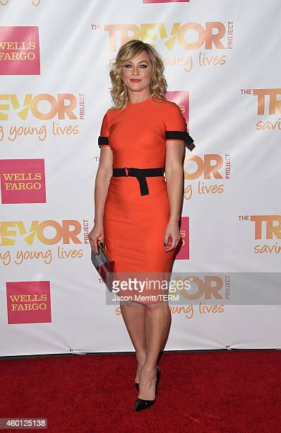 Actress Elisabeth Rohm attends 'TrevorLIVE LA' Honoring Robert Greenblatt Yahoo and Skylar Kergil for The Trevor Project at Hollywood Palladium on...