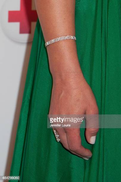 """Actress Elisabeth Rohm, bracelet detail, attends the American Red Cross Centennial Celebration to Honor Disney as the """"Humanitarian Company of The..."""