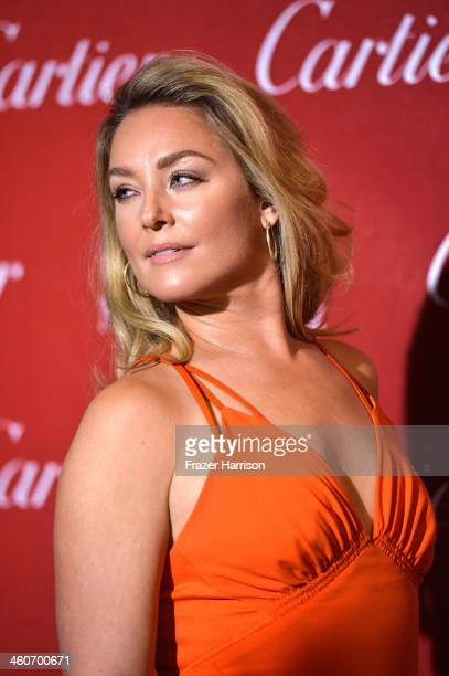 Actress Elisabeth Rohn arrives at the 25th Annual Palm Springs International Film Festival Awards Gala at Palm Springs Convention Center on January 4...