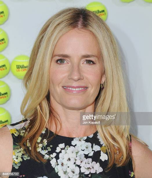 Actress Elisabeth Shue arrives at the Premiere Of Fox Searchlight Pictures' 'Battle Of The Sexes' at Regency Village Theatre on September 16 2017 in...
