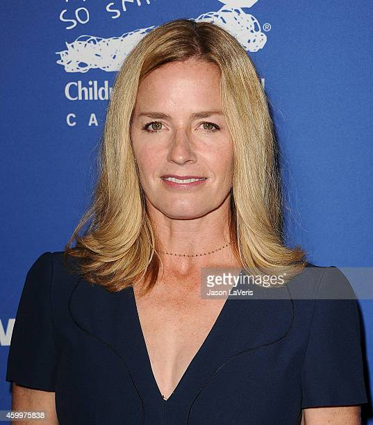 Actress Elisabeth Shue attends Children's Defense Fund's 24th annual Beat The Odds Awards at The Book Bindery on December 4 2014 in Culver City...
