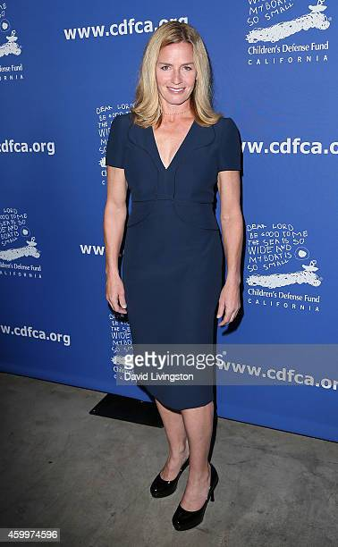 Actress Elisabeth Shue attends the Children's Defense Fund's 24th Annual Beat the Odds Awards at The Book Bindery on December 4 2014 in Culver City...
