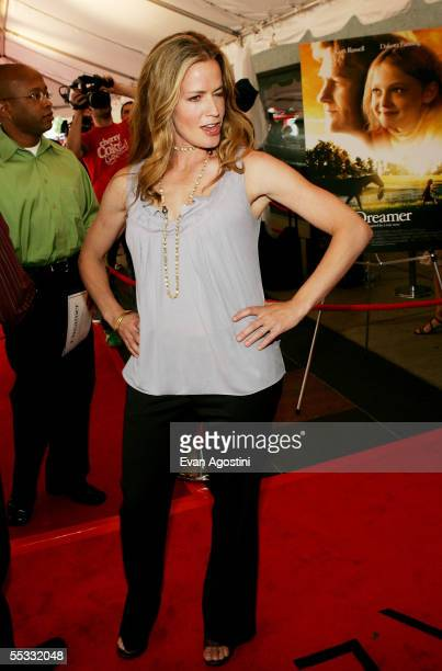 """Actress Elisabeth Shue attends the DreamWorks premiere of """"Dreamer: Inspired By A True Story"""" at Roy Thompson Hall during the 2005 Toronto..."""