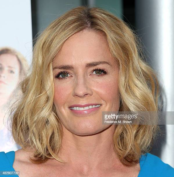 Actress Elisabeth Shue attends the Premiere of 'Behaving Badly' at the ArcLight Hollywood on July 29 2014 in Hollywood California