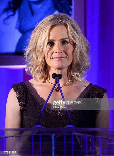 Actress Elisabeth Shue onstage at the Children's Defense Fund of California 22nd Annual Beat The Odds Awards at Beverly Hills Hotel on December 6...