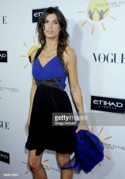 Actress Elisabetta Canalis arrives at the Dream For Future Africa Foundation Gala at Spago on October 24 2013 in Beverly Hills California