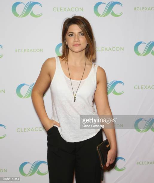 Actress Elise Bauman attends the Cocktails for Change fundraiser hosted by ClexaCon to benefit Cyndi Lauper's True Colors Fund at the Tropicana Las...