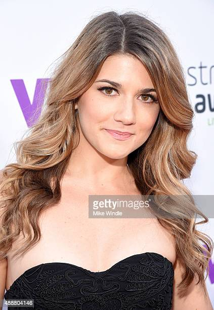 Actress Elise Bauman attends VH1's 5th Annual Streamy Awards at the Hollywood Palladium on Thursday September 17 2015 in Los Angeles California