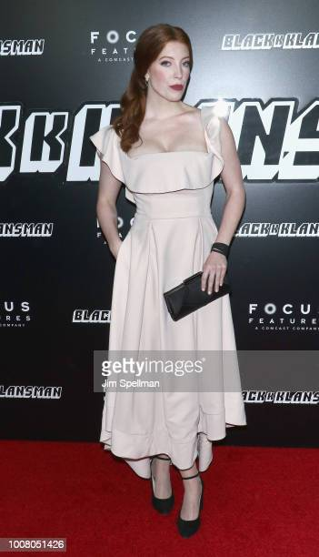 Actress Elise Hudson attends the 'BlacKkKlansman' New York premiere at Brooklyn Academy of Music on July 30 2018 in New York City