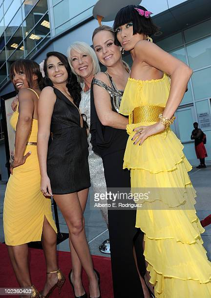 Actress Elise Neal actress Scout TaylorCompton actress Helen Mirren actress Taryn Manning and actress Bai Ling arrive at the Los Angeles premiere of...