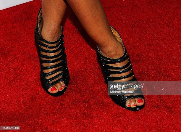 Actress Elise Neal arrives at the 2nd Annual Give Get Fete at the SoHo House on August 16 2010 in West Hollywood California