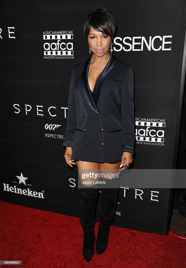 """Spectre"" - The Black Women Of Bond Tribute - Arrivals"