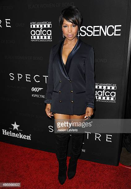 Actress Elise Neal attends 'Spectre' The Black Women of Bond Tribute at California African American Museum on November 3 2015 in Los Angeles...