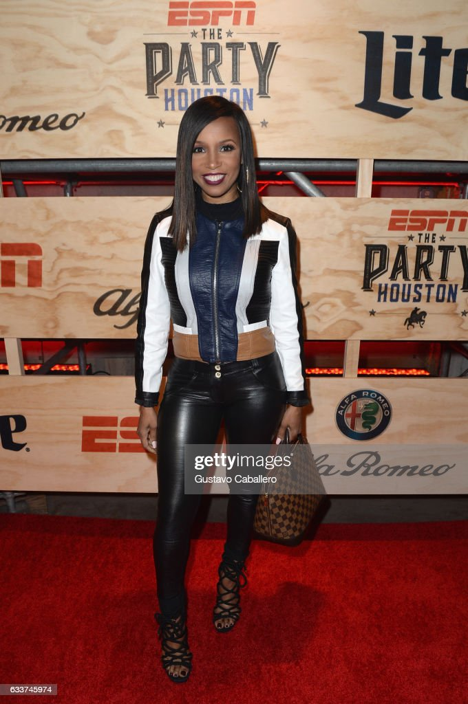 Actress Elise Neal attends the 13th Annual ESPN The Party on February 3, 2017 in Houston, Texas.