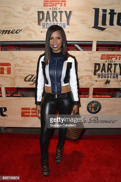 Actress Elise Neal attends the 13th Annual ESPN The Party on February 3 2017 in Houston Texas