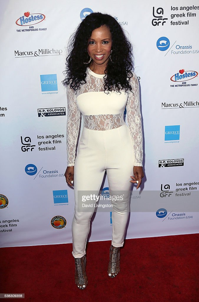 Actress Elise Neal attends the 2016 LA Greek Film Festival premiere of 'Worlds Apart' at the Egyptian Theatre on June 5, 2016 in Hollywood, California.