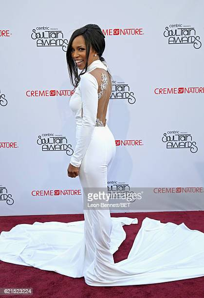 Actress Elise Neal attends the 2016 Soul Train Music Awards at the Orleans Arena on November 6 2016 in Las Vegas Nevada