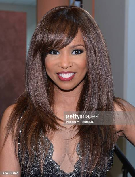 Actress Elise Neal attends the 45th NAACP Awards NonTelevised Awards Ceremony at the Pasadena Civic Auditorium on February 21 2014 in Pasadena...