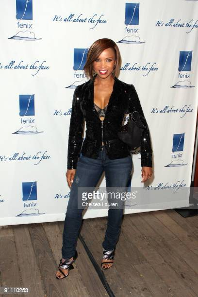 Actress Elise Neal attends the Fenix Cosmetics 10th Year Anniversary celebration at the SkyBar on September 22 2009 in West Hollywood California