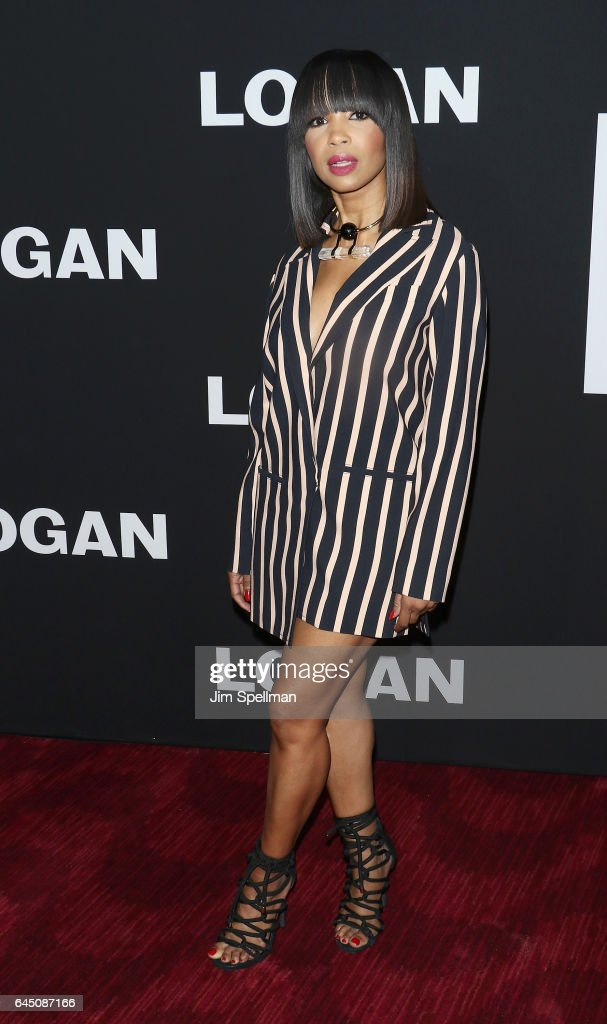 Actress Elise Neal attends the 'Logan' New York screening at Rose Theater, Jazz at Lincoln Center on February 24, 2017 in New York City.