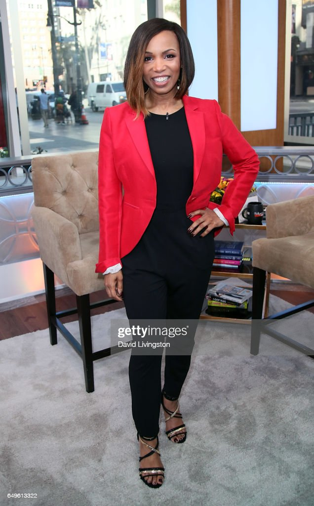 Actress Elise Neal visits Hollywood Today Live at W Hollywood on March 8, 2017 in Hollywood, California.