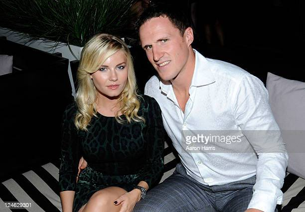 Actress Elisha Cuthbert and Dion Phaneuf Toronto Maple Leafs attend The Independent Filmmaker Project, RBC And Euphoria Calvin Klein Celebrate...
