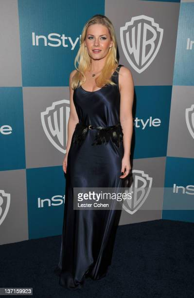 Actress Elisha Cuthbert arrives at the 13th Annual Warner Bros. And InStyle Golden Globe After Party held at The Beverly Hilton hotel on January 15,...
