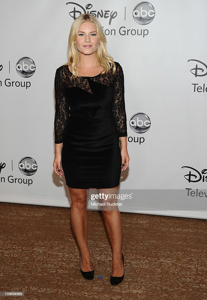 Actress Elisha Cuthbert arrives at the Disney ABC Television Group's 'TCA 2001 Summer Press Tour' at the Beverly Hilton Hotel on August 7, 2011 in Beverly Hills, California.