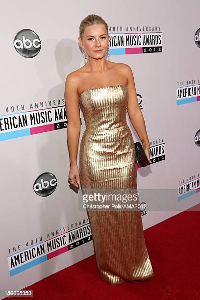 Actress Elisha Cuthbert attends the 40th American Music Awards held at Nokia Theatre L.A. Live on November 18, 2012 in Los Angeles, California.