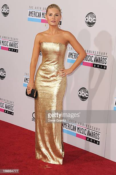 Actress Elisha Cuthbert attends the 40th Anniversary American Music Awards held at Nokia Theatre LA Live on November 18 2012 in Los Angeles California