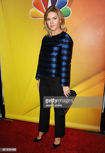 Actress Elisha Cuthbert attends the NBCUniversal 2015 press tour at The Langham Huntington Hotel and Spa on January 16 2015 in Pasadena California